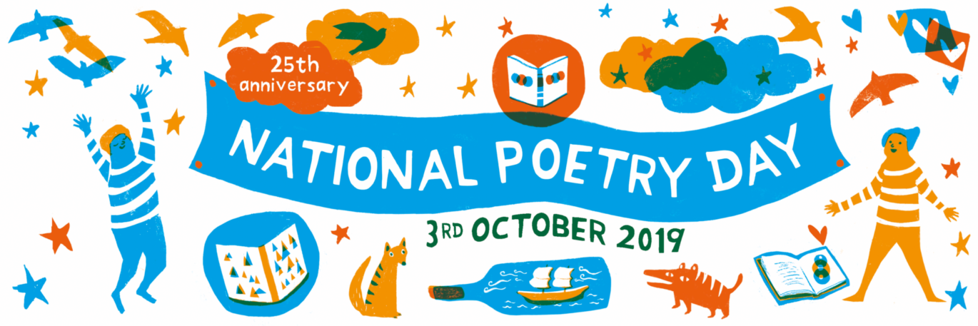 Image result for national poetry day 2019